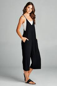 plunging jumpsuit basic layer jumpsuits for gozon gozon boutique