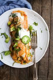 light and easy dinner spiralized vegetable enchiladas recipe vegetable enchiladas