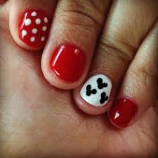 mickey and minnie nails nails pinterest