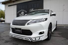 lexus minivan 2015 2015 toyota harrier tuned by rowen