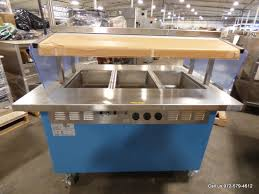 steam table with sneeze guard dallas inventory shelleyglas electric 3 well food steam table