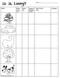 living or non living foldable worksheets my tpt store