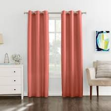 Burnt Orange Curtains Orange Curtains Drapes Window Treatments Kohl S