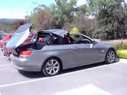 bmw 3 series convertible roof problems bmw e93 hardtop convertible roof closing