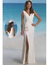 brautkleid ohne schleppe v ausschnitt lang ohne schleppe brautkleider standesamtliche