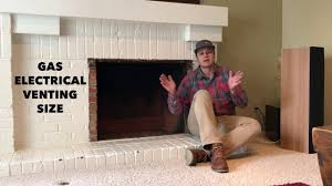 how to install a gas fireplace insert youtube