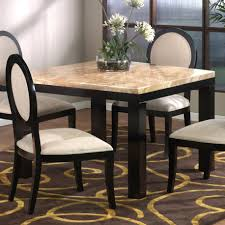 Dining Table Marble Top Tall Square Dining Table Steve Silver Julian 9 Piece Counter