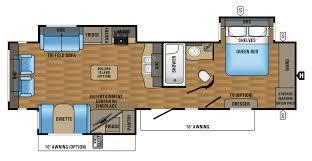 trailer floor plans 2017 eagle luxury travel trailer floorplans u0026 prices jayco inc