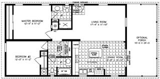2 Bedroom Single Wide Floor Plans Lovely Ideas Two Bedroom Mobile Homes 2 Bedroom 1 Bath Single Wide