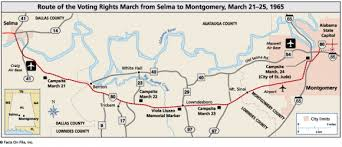 selma map my march to selma