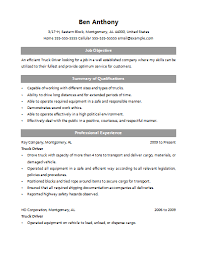 truck driver resume exle cdl class a driver resume sales driver lewesmr