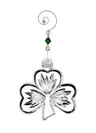 waterford crystal shamrock ornament 2016 blarney