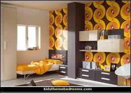 70s decor decorating theme bedrooms maries manor groovy funky retro