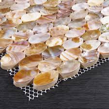 cuisine de perle mère de perle carrelage pour cuisine et salle de bain coque