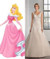 modern wedding dresses for every disney princess wedding dresses