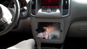 2016 nissan maxima youtube ultra audioworks ipad 2 install 2009 nissan maxima youtube
