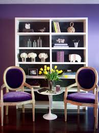 Purple Livingroom by Behind The Color Purple Hgtv