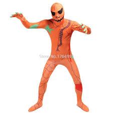 Spandex Halloween Costumes Cheap Orange Zentai Spandex Aliexpress Alibaba Group