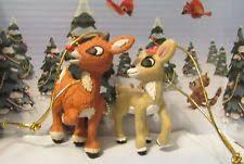 rudolph ornament ebay