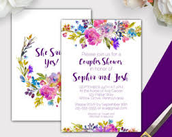 Couples Shower His And Hers Couple Wedding Shower Invitation