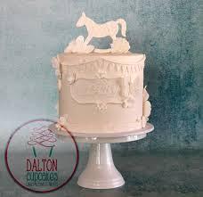 vintage u0027 style white baby shower cake youtube