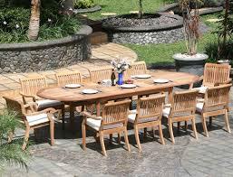Patio Furniture Round Dinning Teak Dining Table Set Round Teak Dining Table Teak Wood