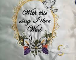with this ring i thee wed i thee wed etsy