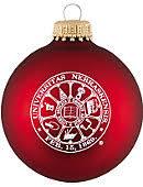 husker ornaments nebraska decorations holidays