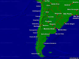 Map Chile Primap National Maps