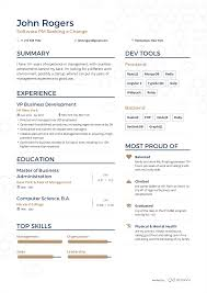 resume with picture sample examples of resumes by enhancv john rogers resume page 1