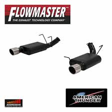 2013 mustang gt flowmaster exhaust 2013 14 mustang gt flowmaster thunder axle back