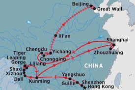 Shenzhen China Map China Tours Travel U0026 Trips Peregrine Adventures Au
