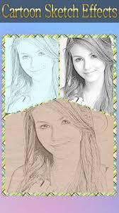 cartoon sketch avatar hd draw pencil portrait camera photo on
