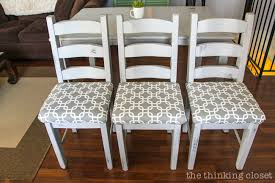 Recovering An Armchair How To Reupholster A Dining Chair Seat Diy Tutorial U2014 The