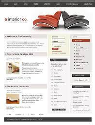 Interior Design Websites Ideas by Ideas And Examples For Web Design For Fashion And Interior Design