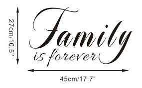 amazon com free will family is forever wallpaper home decoration