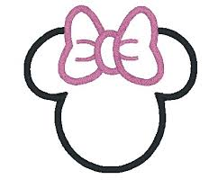 minnie mouse face template printable cakepins minnie