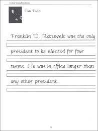 44 united states presidents character writing worksheets getty