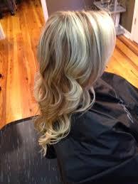 long blonde hair with dark low lights dark brown lowlights in blonde hair brown hairs