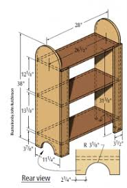 bookshelf plans for the bookless life u2013 4 free easy woodworking plans