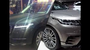 2017 volvo xc90 vs 2017 range rover velar youtube