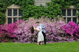Botanical Gardens New Jersey Ng Studio Photography Robert S Engagement Session Photo