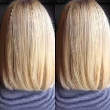 front and back views of chopped hair 27 beautiful long bob hairstyles shoulder length hair cuts