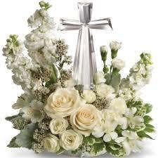 flowers for funeral service peace bouquet best selling funeral service arrangements