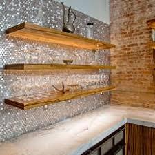 Metallic Kitchen Backsplash by Metallic Kitchen Photos Hgtv
