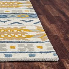 Stripe Area Rug Rizzy Home Rockport Collection Tufted Ruby Stripe Area Rug