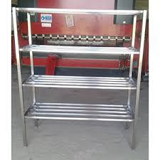 batterie de cuisine inox professionnel etagères barreaudée 4 niveaux inox matériel de cuisine professionnel