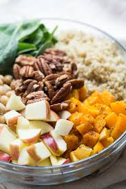 quinoa salad for thanksgiving fall quinoa salad with butternut squash and apples simply quinoa