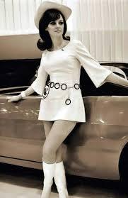 1960 u0027s fashion white mini dress go go boots hat belt ring over