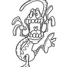 sprite monster coloring pages hellokids